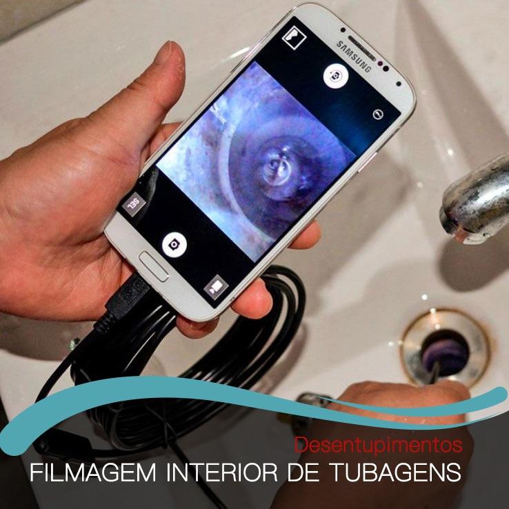 Fimagem Interior de Tubagens